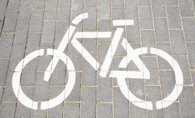 Zeichen für Fahrradweg