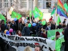 Demonstration gegen AfD 2015