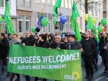 Grüne für eine offene, vielfältige und solidarische Gesellschaft ohne Angst und Ausgrenzung.