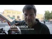 Auf ein Wort mit Robert Habeck in Hannover
