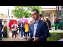 Cemsession in Hemmingen, Region Hannover mit Cem Özdemir.