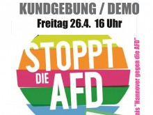 Demonstration gegen AfD 2019